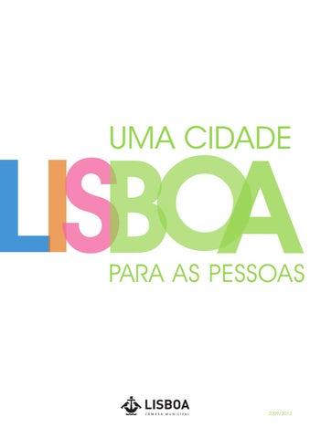 Lisboa - uma cidade para as pessoas by Câmara Municipal de Lisboa ... b2b8e1f58f