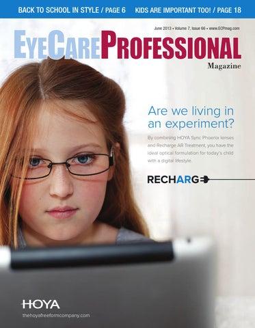 4f61084ff763 EyeCare Professional Magazine June 2013 Issue by ECP Magazine - issuu