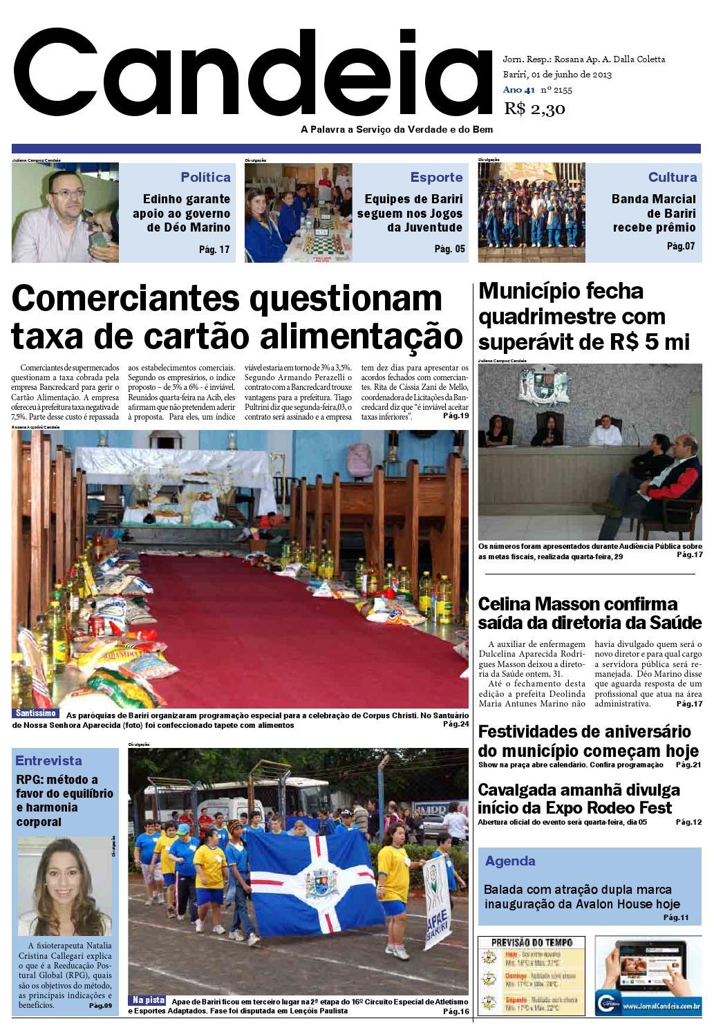 1bec1f4033 Candeia 01 06 by Jornal Candeia - issuu