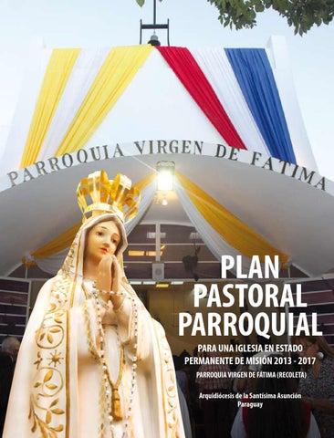 libro plan pastoral - virgen de fátimarevista efeta parroquia