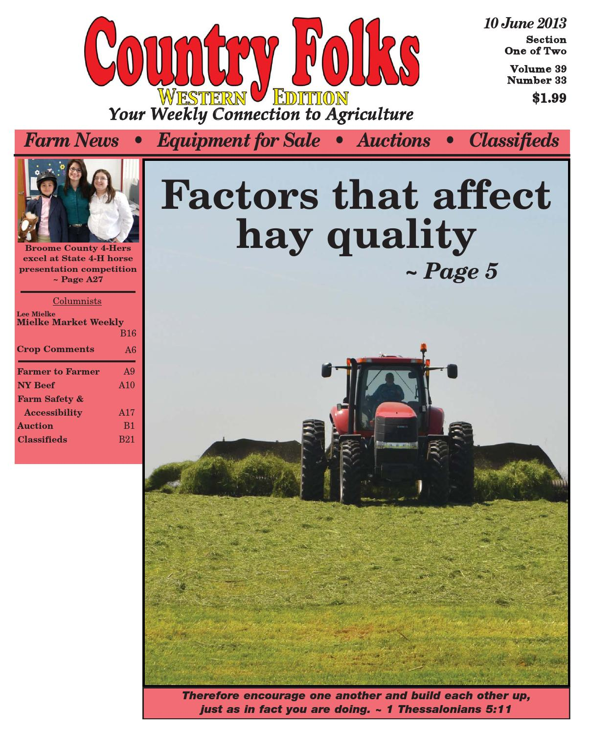 Country Folks West 6.10.13 by Lee Publications - issuu on
