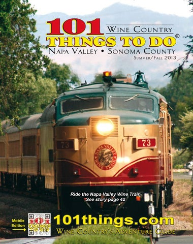 bbe6c8d7c51 101 Things To Do Sonoma  Napa County 2013 by 101 Things To Do ...