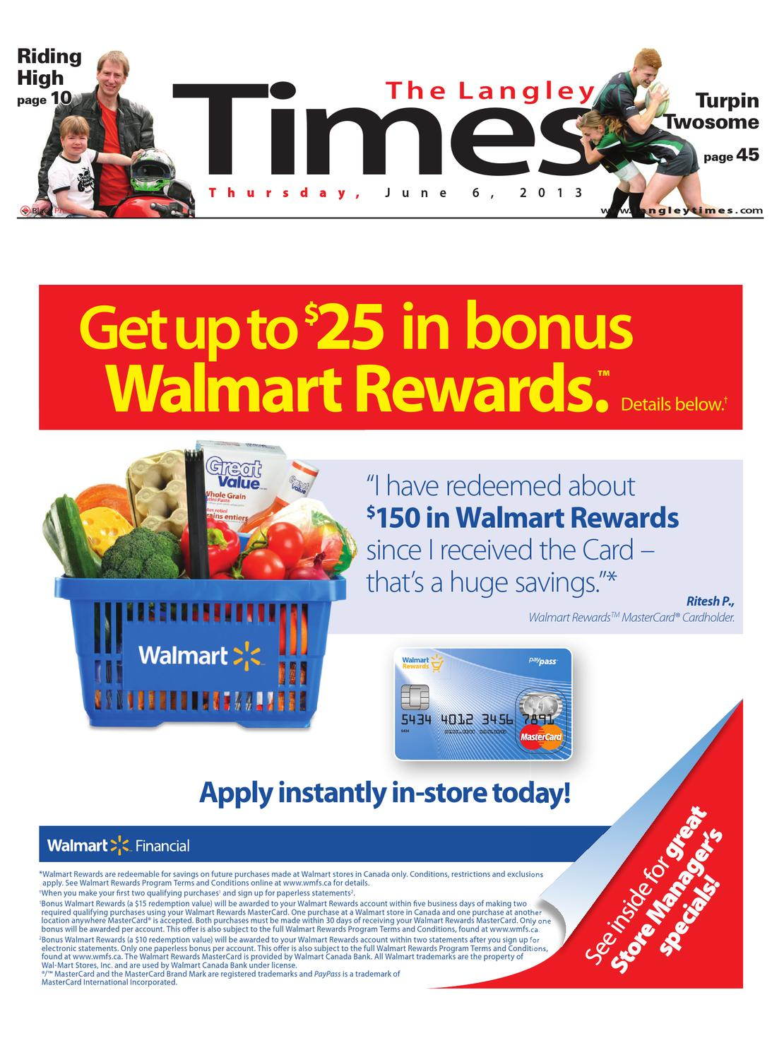 Langley Times June 06 2013 By Black Press Issuu Gift Card Mcd 200000