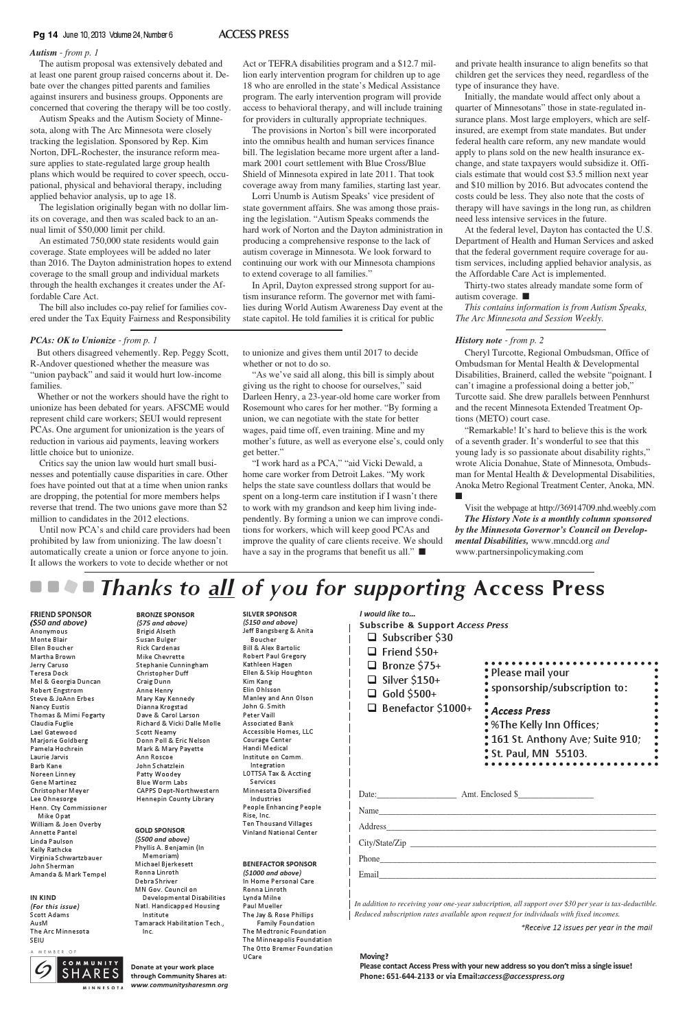 Ap13 06 by Access Press - issuu