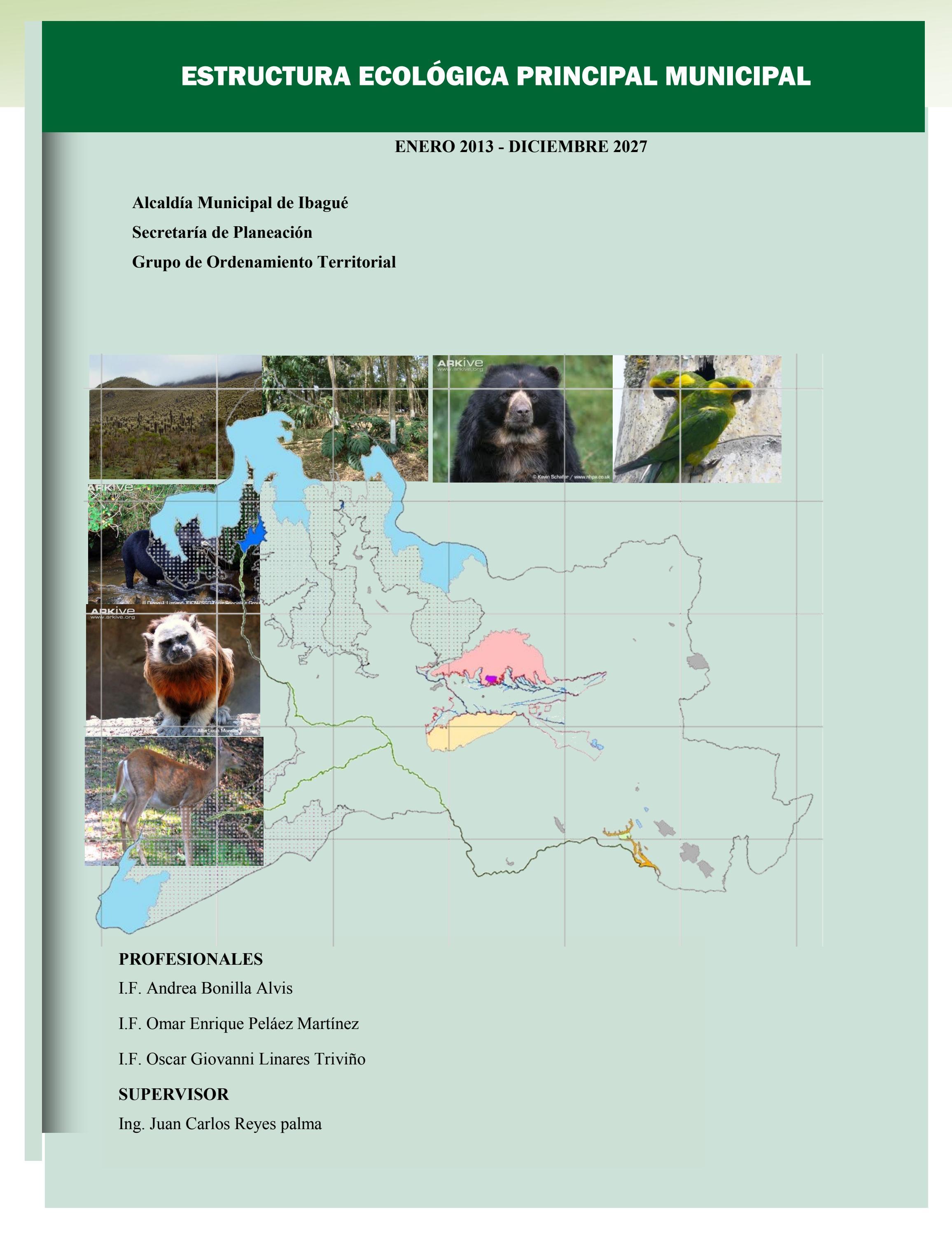 Documento estructura ecológica principal ibagué by EDITORIAL ...