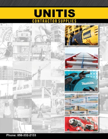 6c209ea907f Unitis Contractor Supplies Product Catalog by Tony Mendoza - issuu