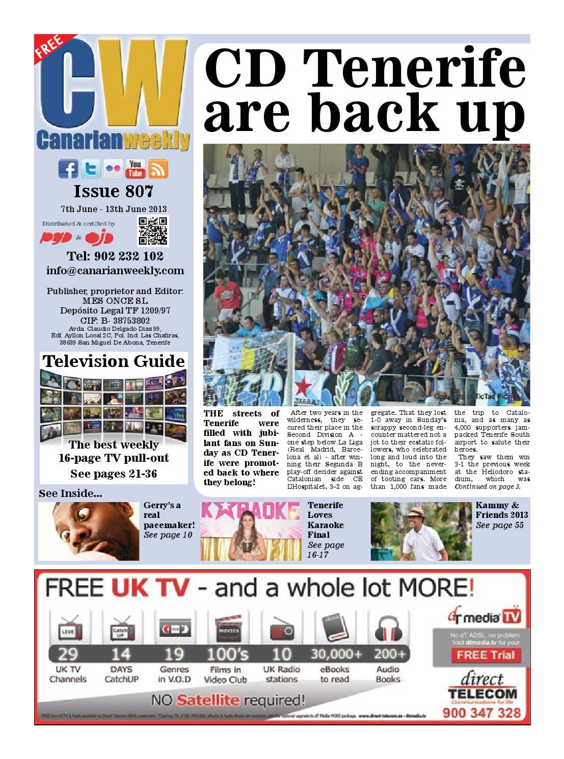 Cw issue 807 by Canarian Weekly - issuu