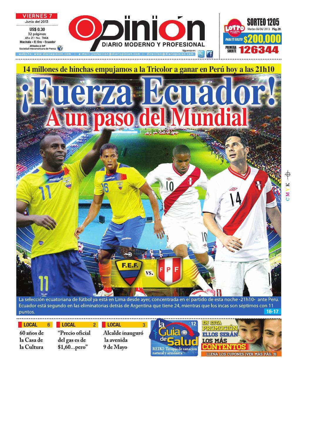Impreso 07 06 13 by Diario Opinion - issuu 90cdf46134a7e