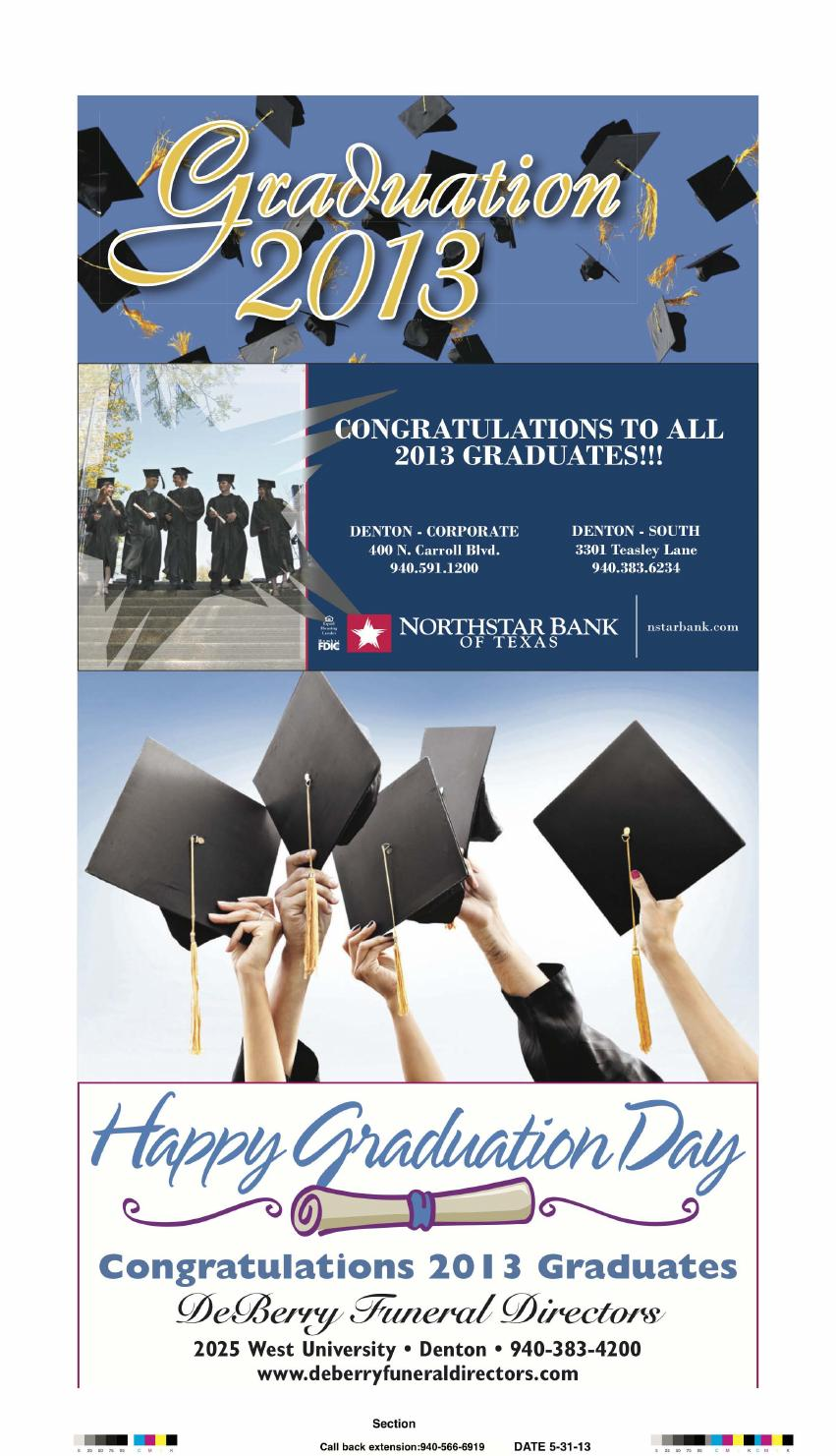 Graduation 2013 by Larry McBride - issuu