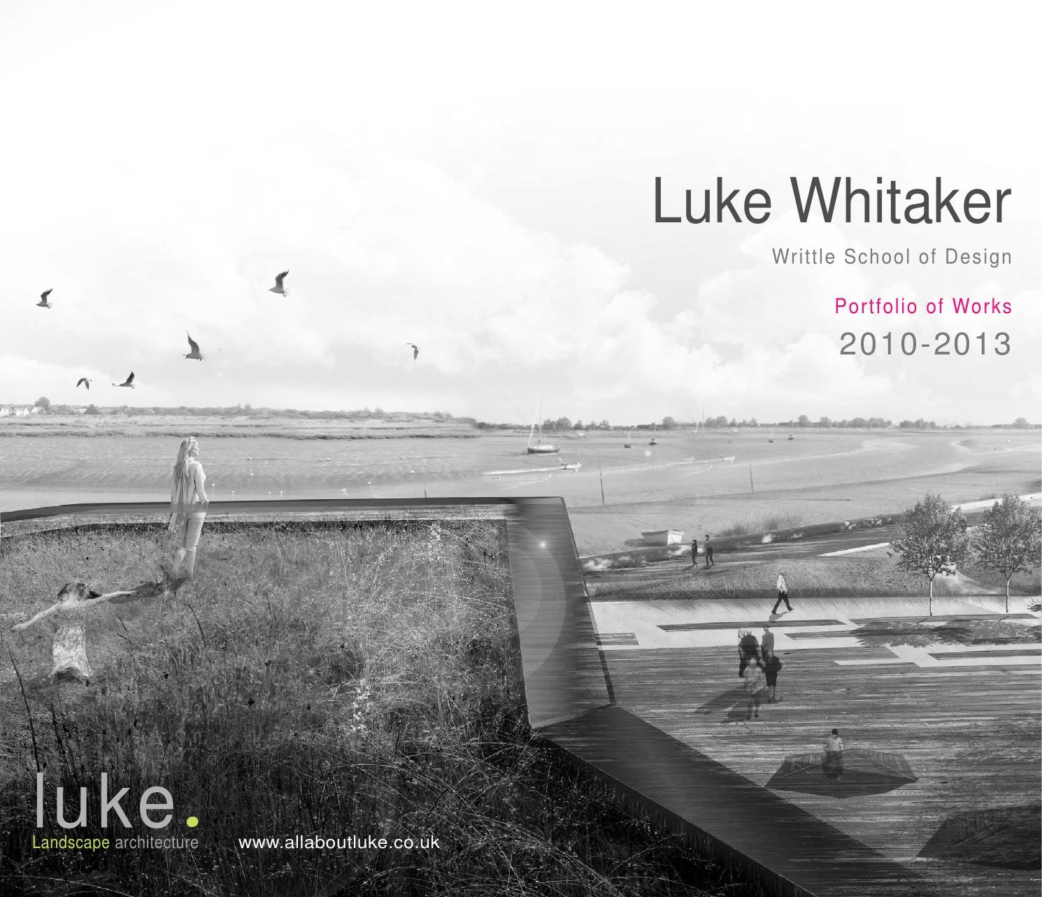 Landscape Architecture Portfolio by luke whitaker - issuu