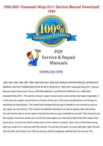 download now ninja zx12r zx 12r zx1200 2005 service repair workshop manual instant download