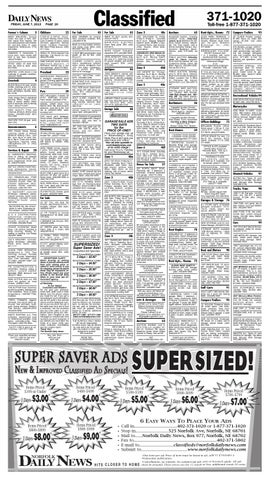 June 7 Classifieds by Norfolk Daily News - issuu