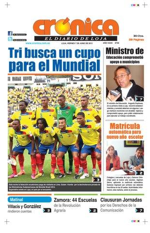 7junio2013 8758 by Diario Crónica - issuu 212e2bc68a8a2