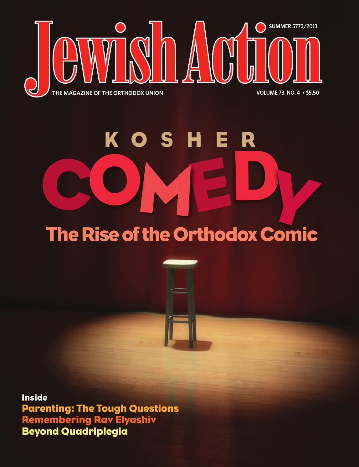Jewish Action Summer 2013 by Orthodox Union - issuu