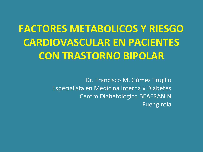 trastorno bipolar diabetes tipo 11