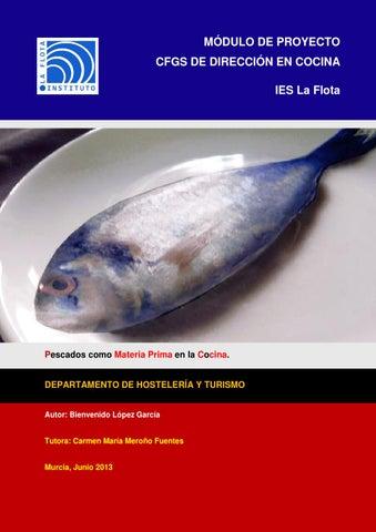 Pescado como materia prima en la cocina junio 2013 by for Procesos de preelaboracion y conservacion en cocina pdf