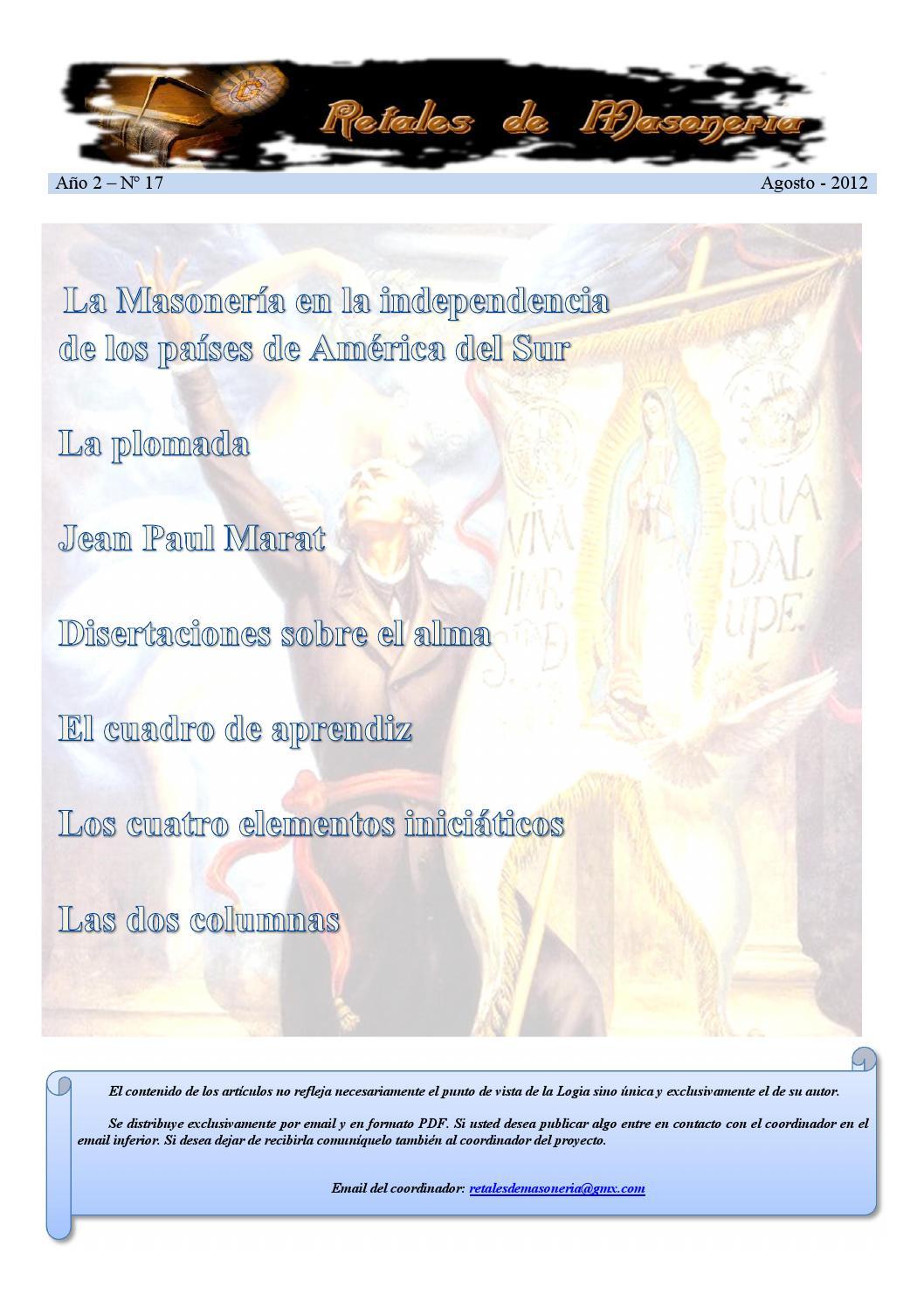 Retales De Masoner A N 017 Agosto 2012 By Grupo Piedra Angular  # Muebles El Toqui Rancagua
