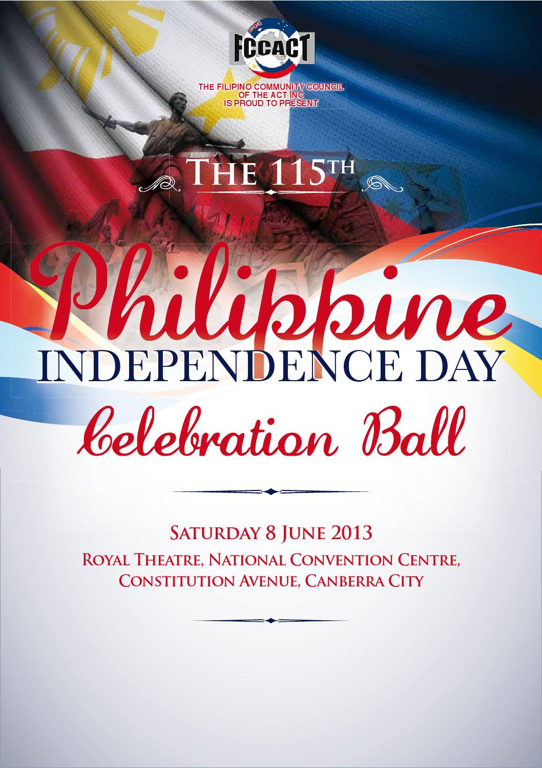 115th Philippine Independence Day, Canberra, Australia by ...