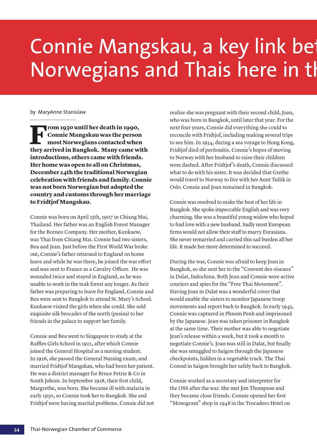 Thai-Norwegian Business Review 2-2013 by Thai-Norwegian