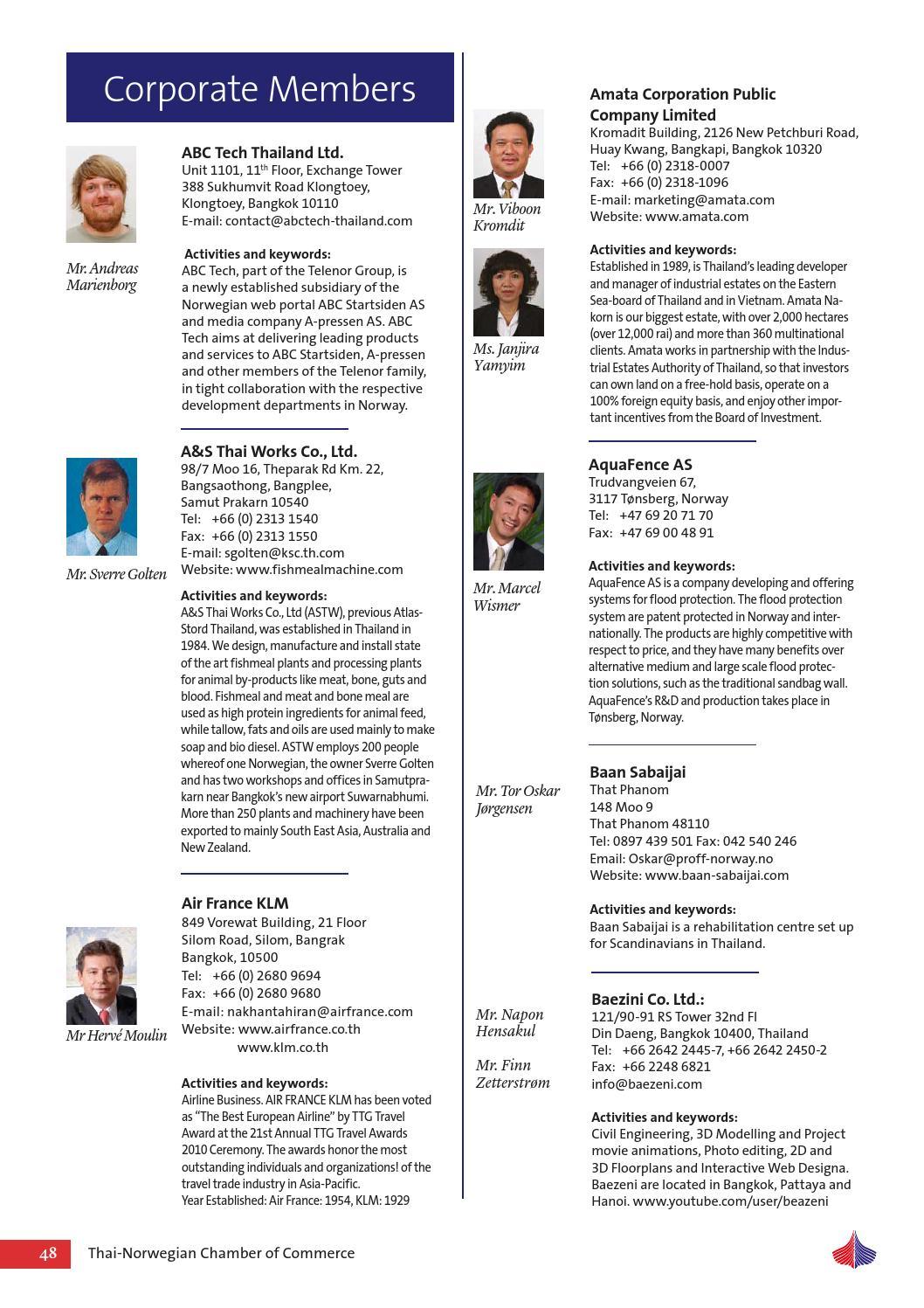 Thai-Norwegian Business Review 2-2013 by Thai-Norwegian Chamber of