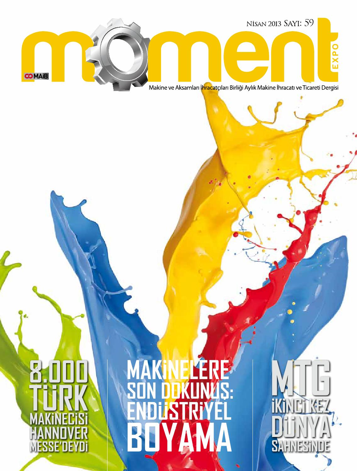 Moment Expo Dergisi 59 Sayı By Orta Anadolu Ihracatçı Birlikleri