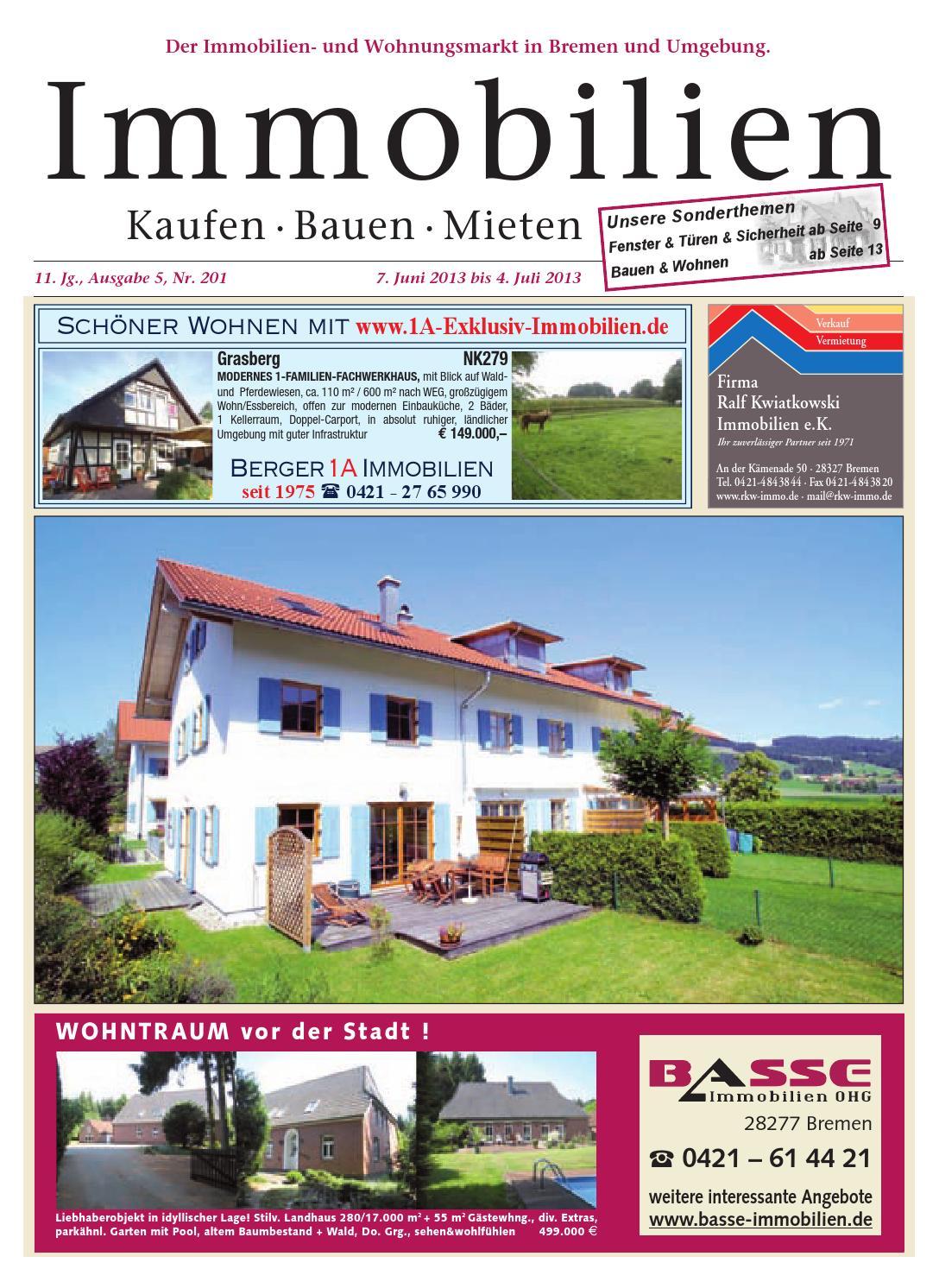 Immobilien Juni 2013 by KPS Verlagsgesellschaft mbH - issuu