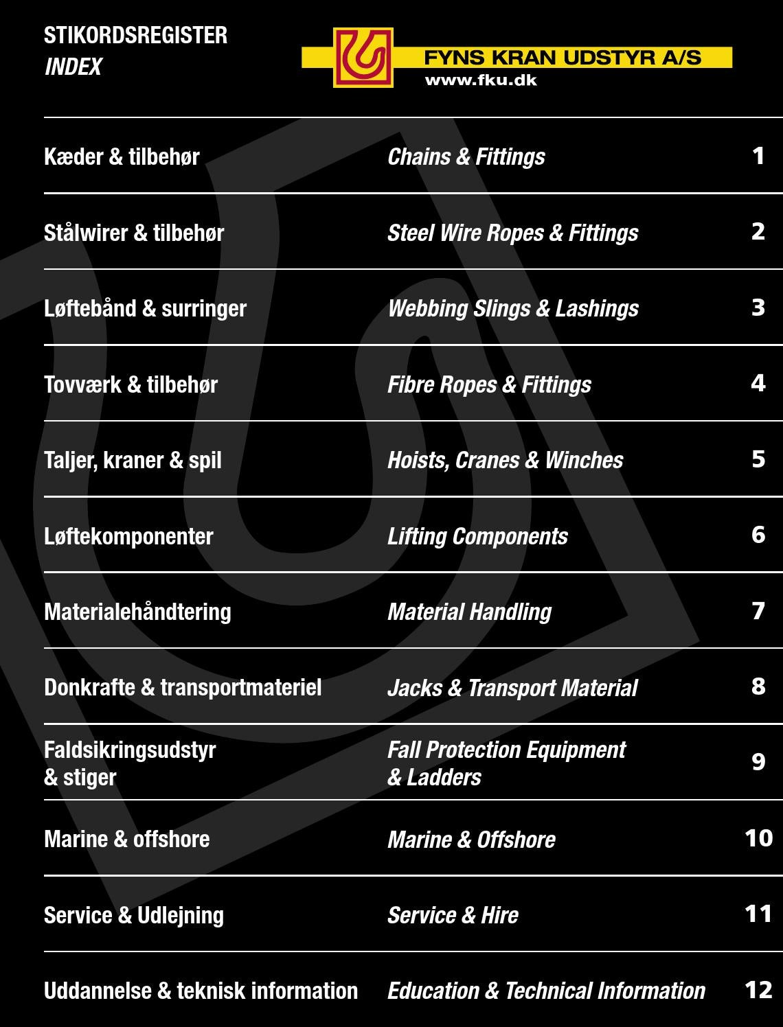 FKUkatalog Version 7.0 - 2013 by Fyns Kran Udstyr A/S - issuu