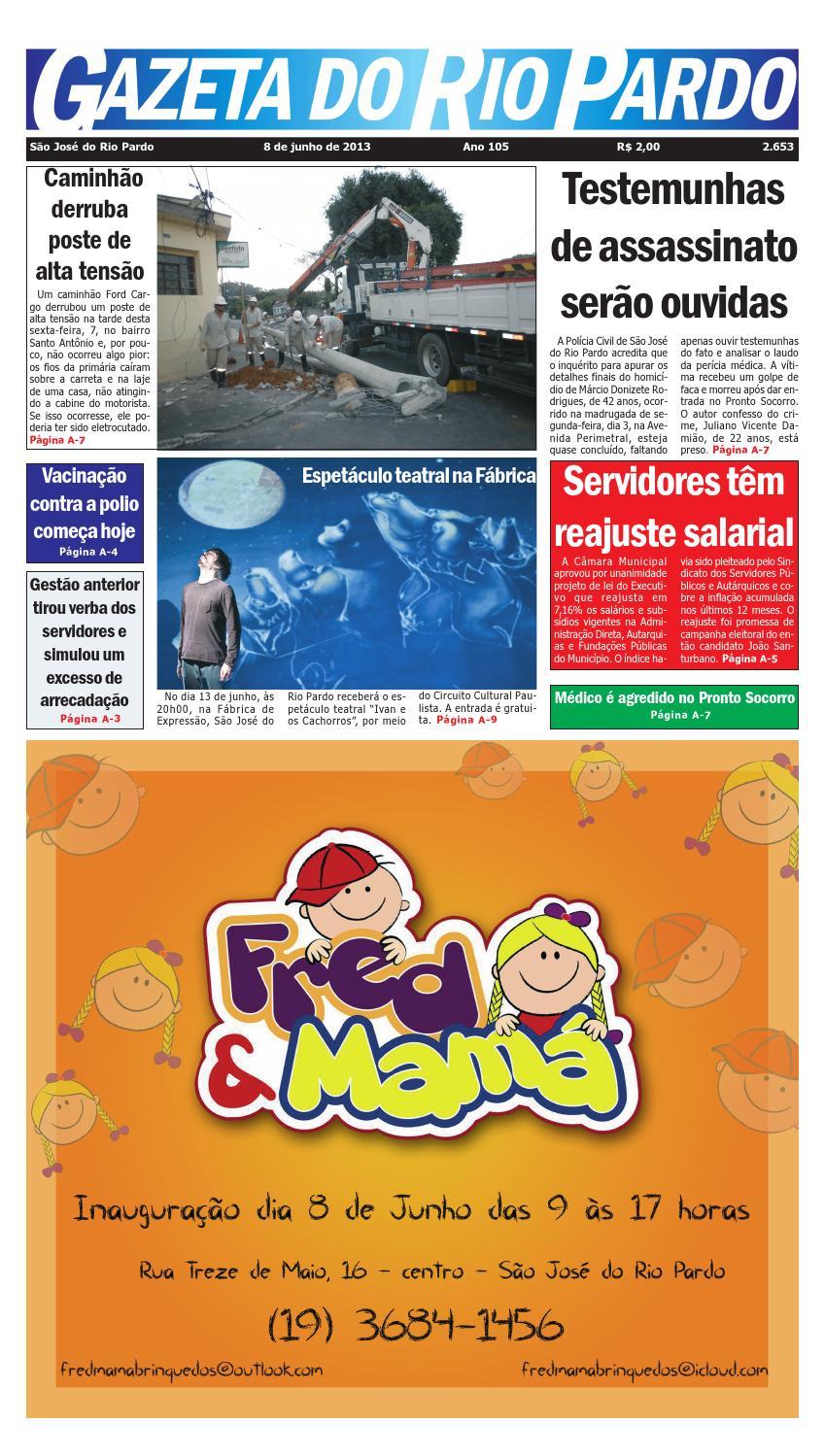41bc69b118 2653 by Gazeta do Rio Pardo - issuu