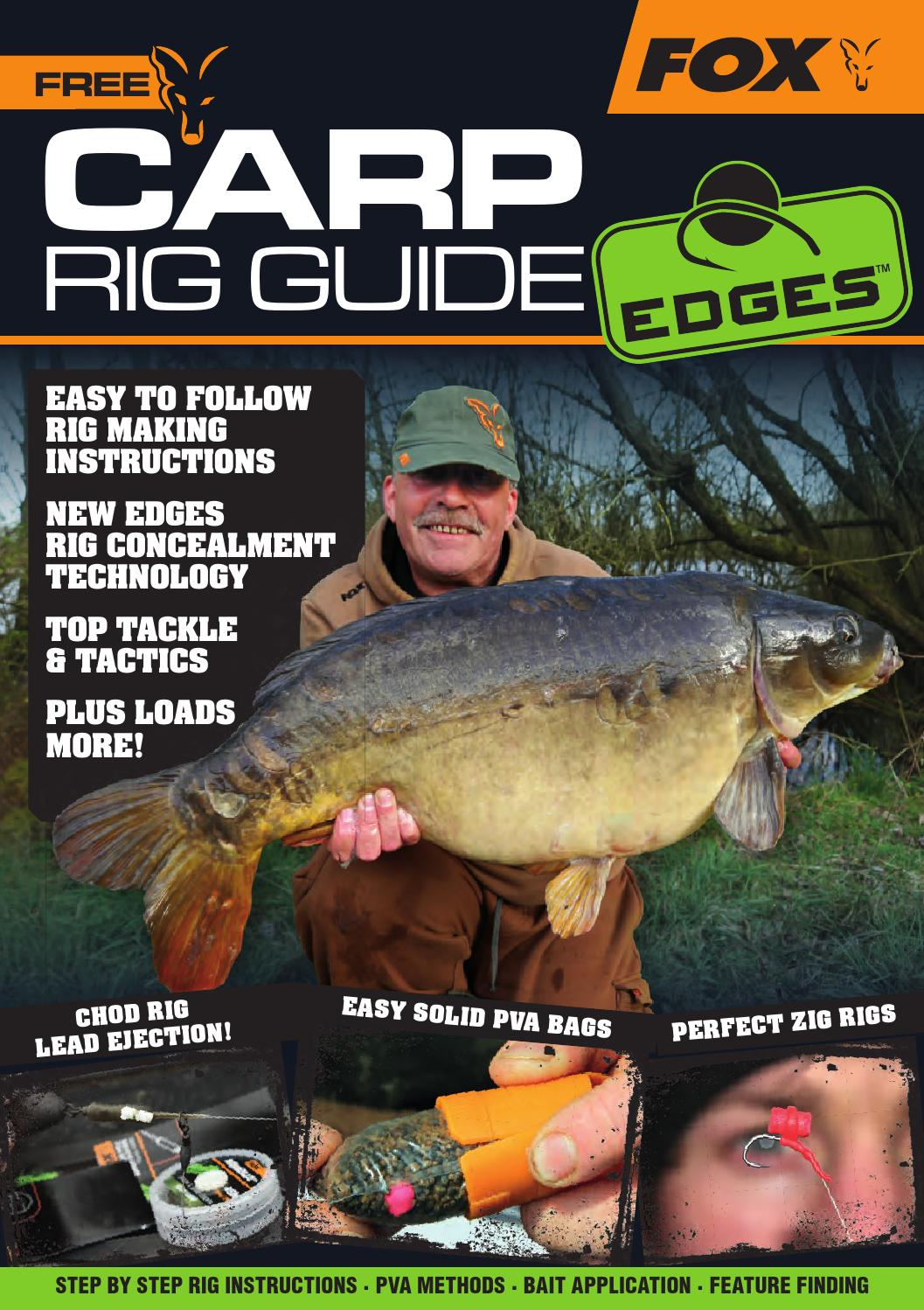 Fox carp rig guide by fox international limited issuu pooptronica Images