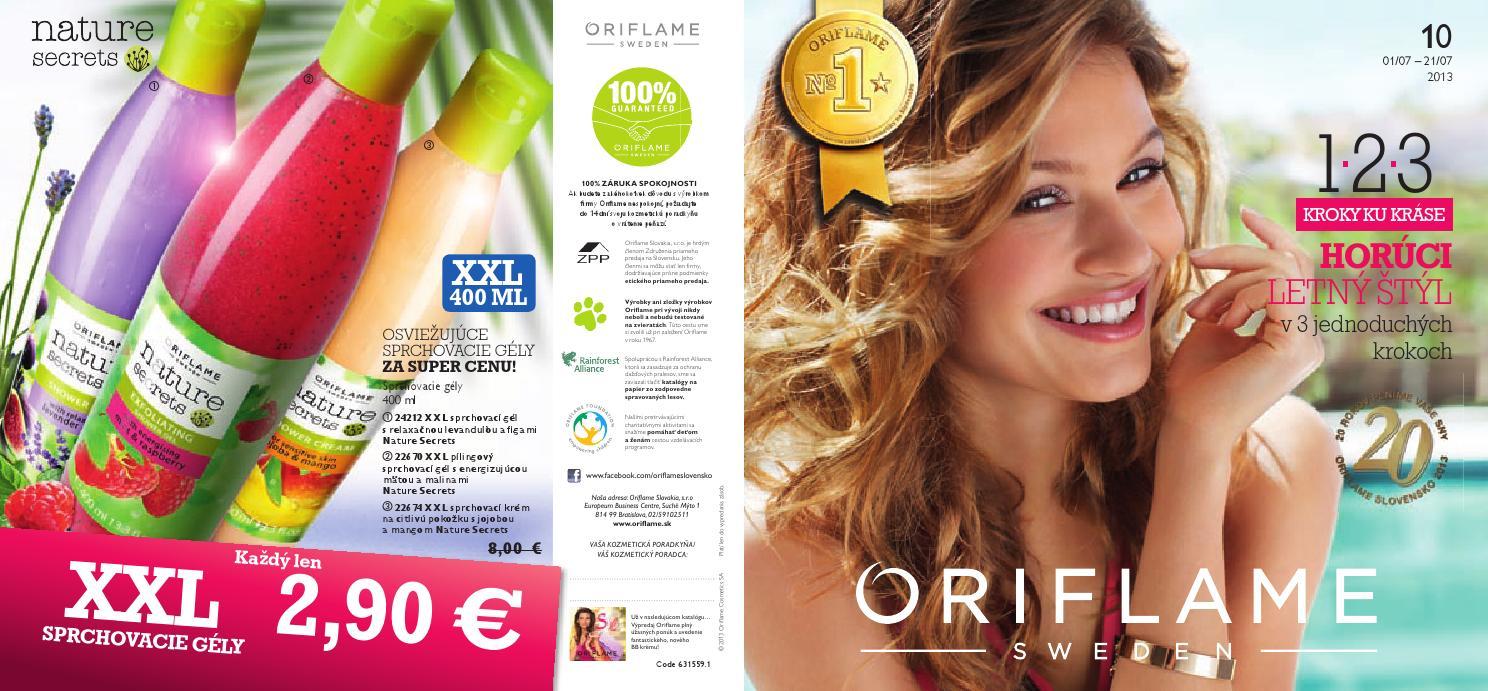 Oriflame Katalog 10 - www.oriflameba.eu by Eliska Kulacsová - issuu 4c03f0f1a5b