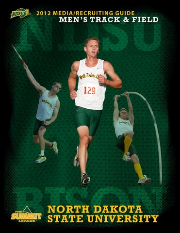 2011-12 North Dakota State Men s Track and Field Media Guide by ... d3c93cd01