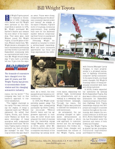 Page 64. Bill Wright Toyota