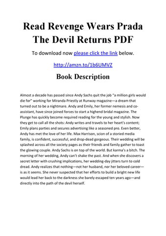 Wears free prada download the ebook devil