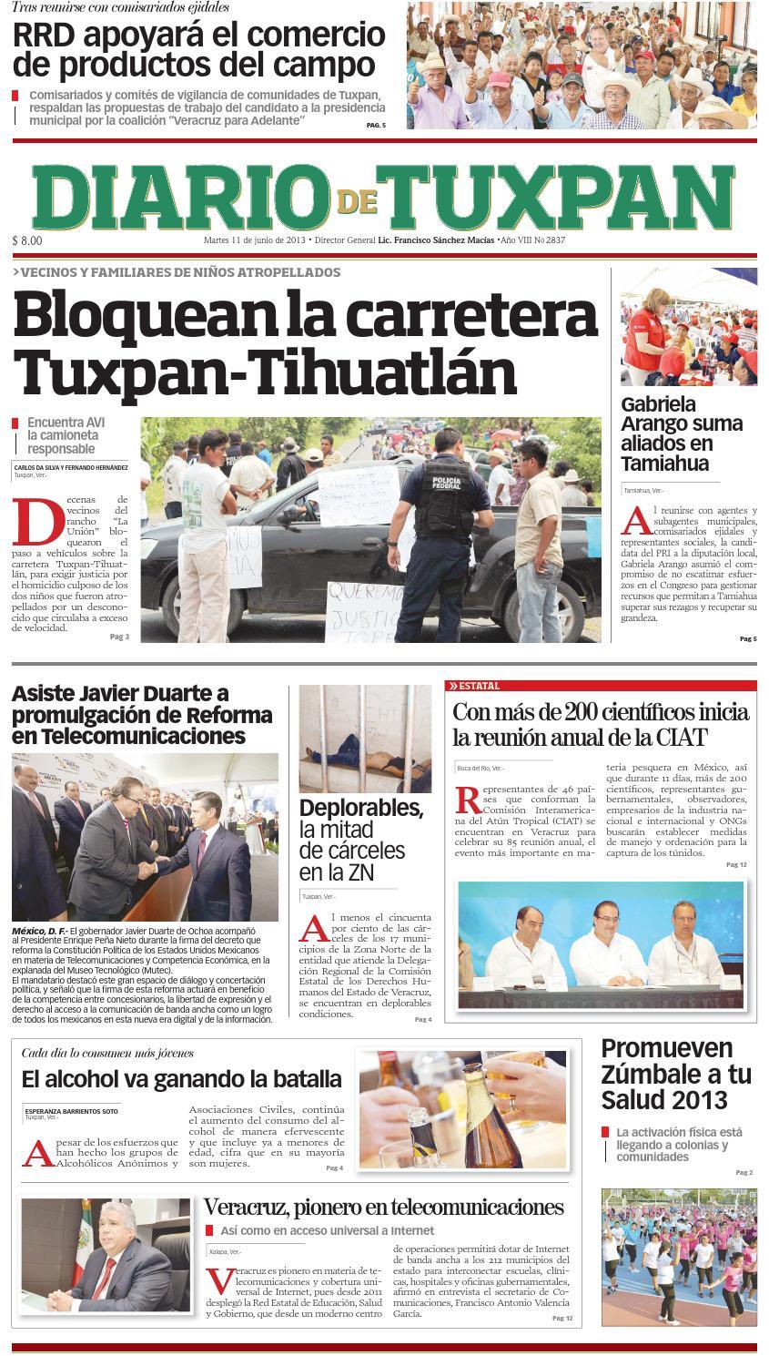 Diario De Tuxpan 11junio2013 By Diario De Tuxpan Issuu