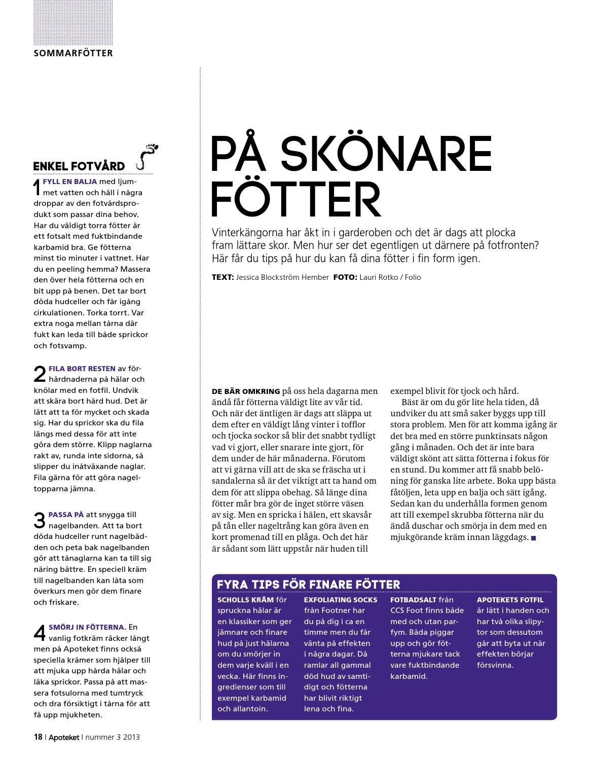 online här ny autentisk mysig färsk Tidningen Apoteket 3 2013 by Apoteket AB - issuu