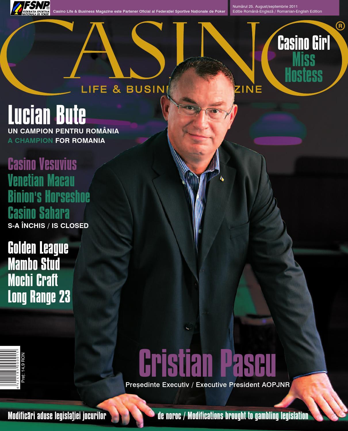 Casino Life & Business Magazine editia / edition 25 by casino life - Issuu