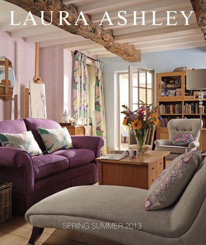 AW Katalog By Laura Ashley Sweden Issuu - Laura ashley living room purple