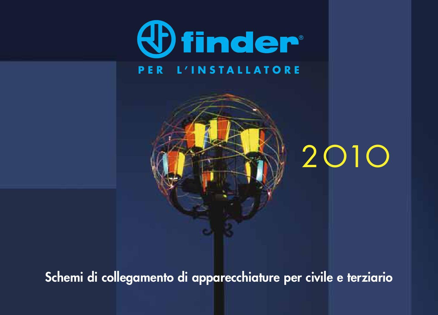 Schema Elettrico Relè Commutatore : Finder by langolo dellelettricità issuu