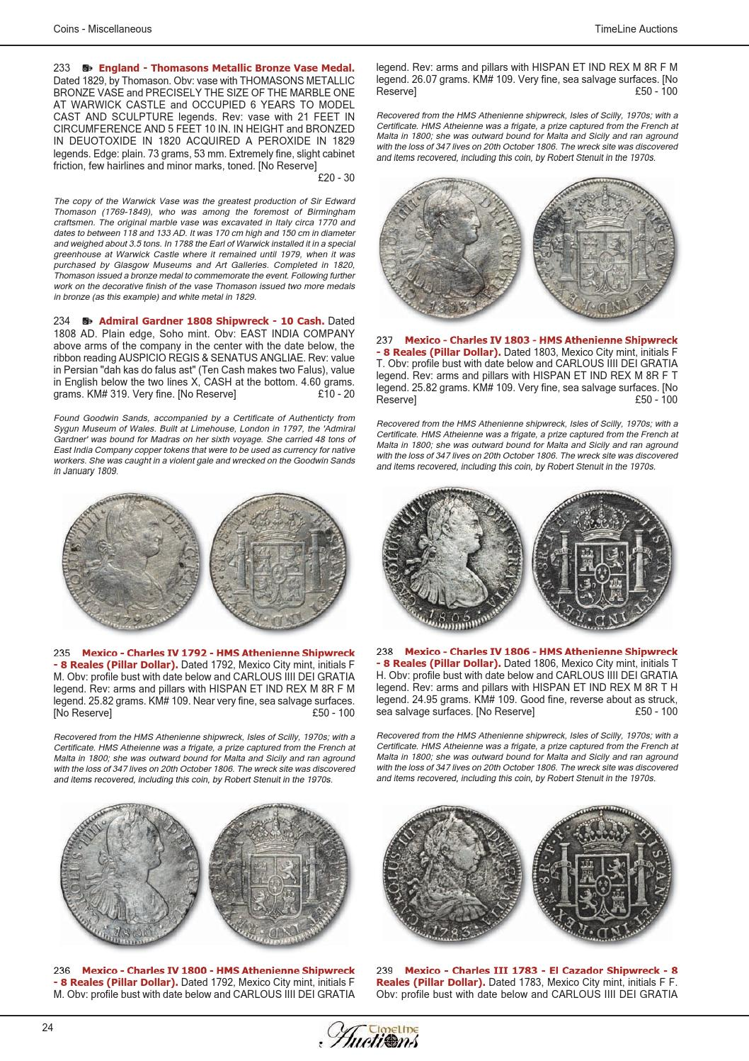 TimeLine Auctions - Coins 19 June 2013 by Daniel Riddick - issuu