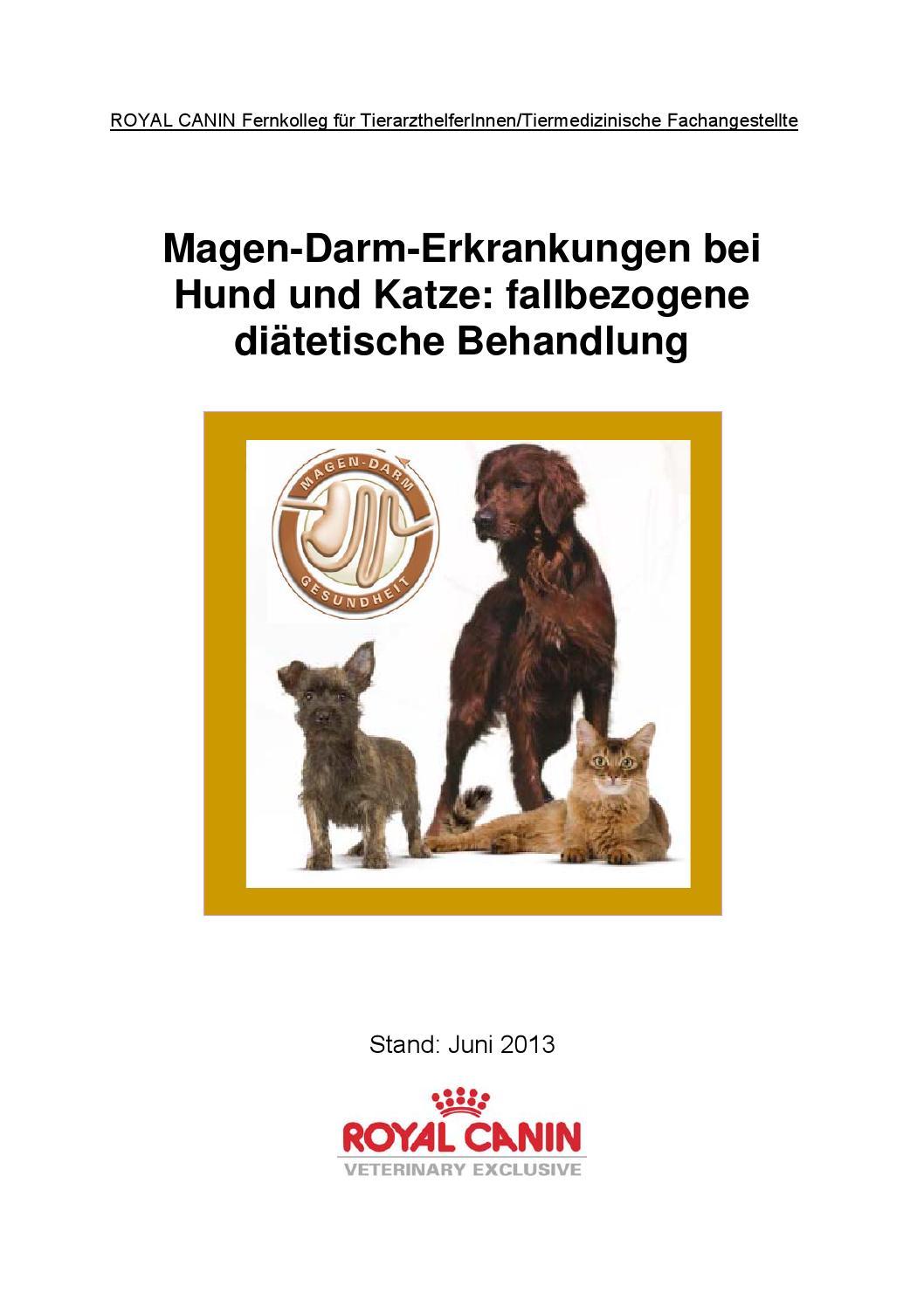 Fernkolleg Magen Darm by ROYAL CANIN - issuu