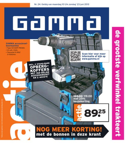 Gamma Metalen Opbergrek.Gamma Folder Tot 23 06 By Broshuri Issuu