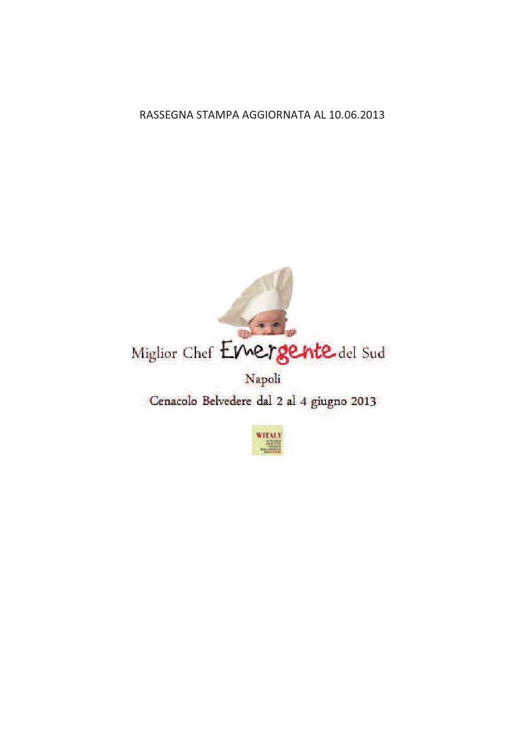 Rassegna Stampa Emergente 2013 By Witaly Lorenza E Luigi Issuu