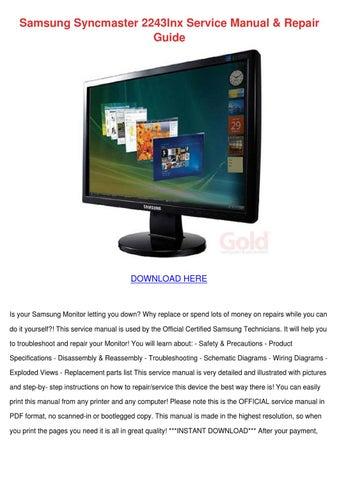 desktop computer repair manual