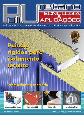 713a6dcf5cd Revista Poliuretano Tecnologia   Aplicações Ed.54 by Editora do ...