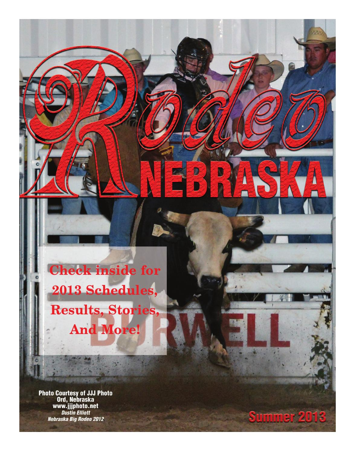 Rodeo Nebraska Summer 2013 By Agnet Content Services Issuu