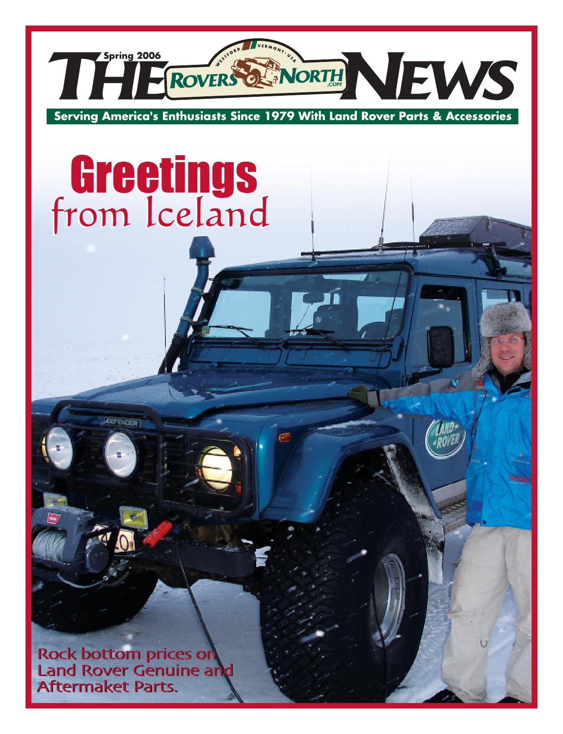Spring 2006 Rovers North News By Issuu Want To Wire In An Ampmeter A 12v Landrover