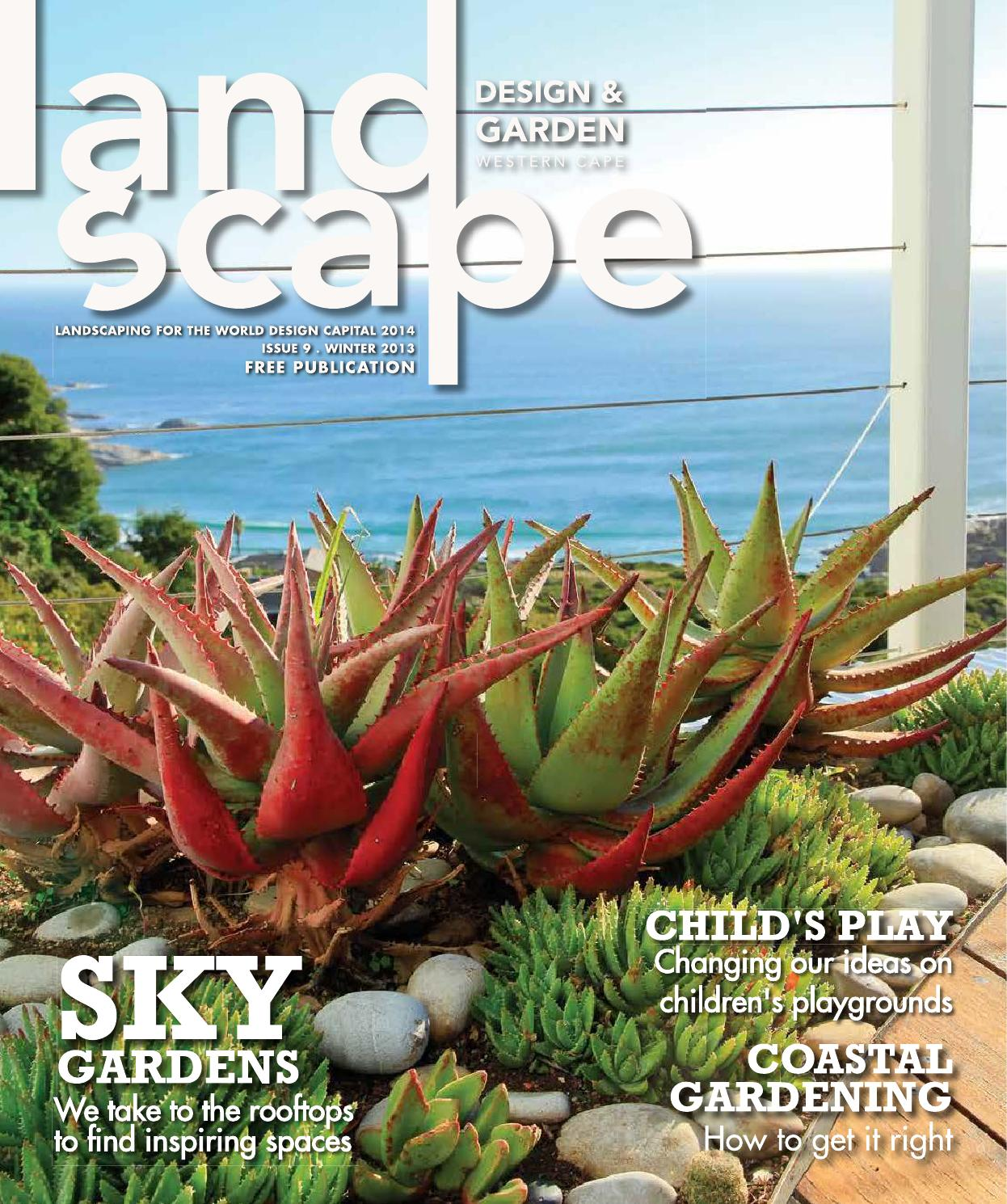 Landscape Design and Garden Winter 2013 by Landscape