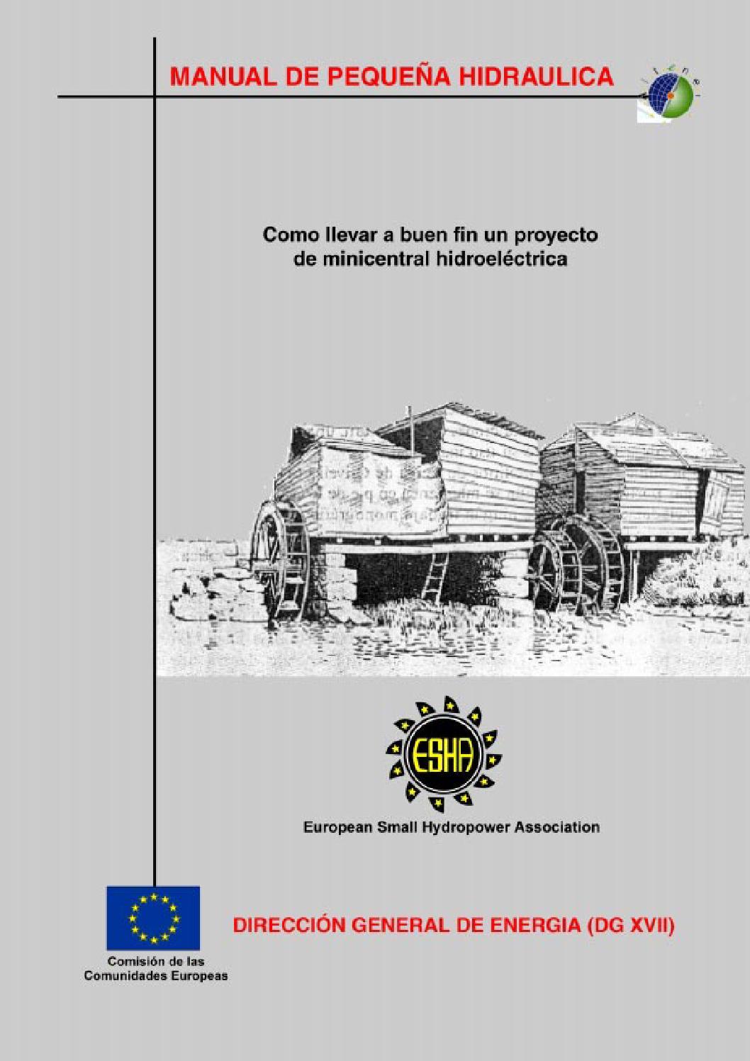 Circuito Hidraulico Mixto : 2 manual de pequeña central hidroelectrica by jose tello issuu