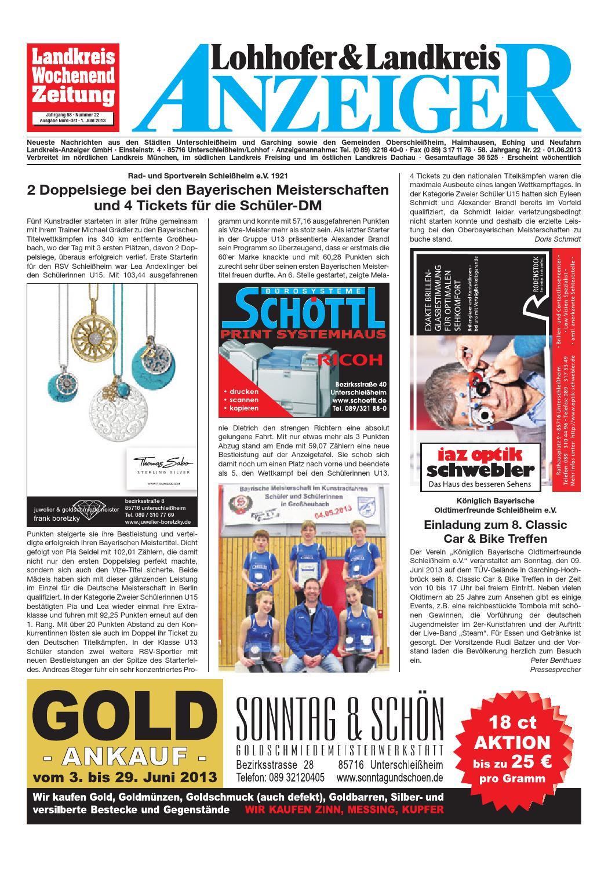 Lohhofer & Landkreis Anzeiger 22 by Zimmermann GmbH Druck & Verlag ...