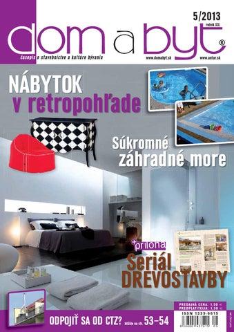 Dom a Byt 5 2013 by ANTAR - issuu 29381b9bc72
